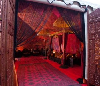 arabian marquee entrance