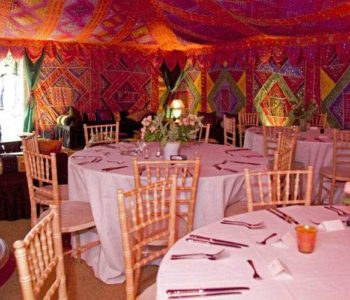 arabian marquee seating tables