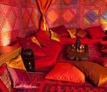 arabian marquee seating