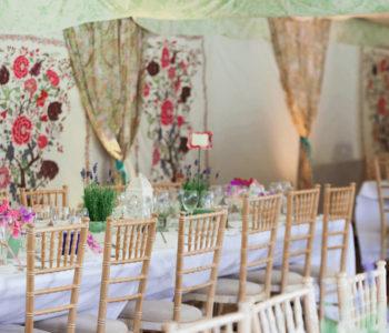 william-morris wedding decor